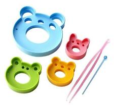 Bear Shaped Ham Cheese Bread Vegetable Cutter Mold Set #9703 S-3747