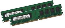2x 1GB 2GB für DELL Dimension E521 Speicher RAM PC2-4200 DDR2-533Mhz 240pin