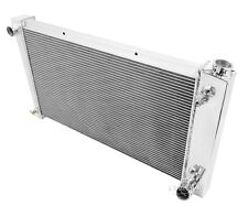 1970 1971 1972  Chevy / GMC Custom 3 Row Champion DR Aluminum Radiator