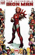 Invincible Iron Man #29 Women of Marvel Pepper Potts Rescue Frame Variant