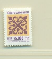 ORNAMENTI - ORNAMENTS TURKEY 1998 Official Stamps