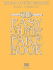 The Easy Country Fake Book Sheet Music Over 100 Songs in the Key of C  000240319