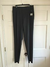 NWT CANALI Gray Stretch Wool Dress Pants Made In Italy 39 X 39 NEW