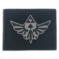 AWESOME THE LEGEND OF ZELDA METAL TRIFORCE BADGE WALLET *BRAND NEW*