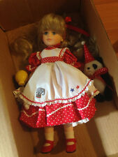"""ROBIN WOODS DOLL CO. - TESSA AT THE CIRCUS 14"""" IN BOX 1990 pr"""