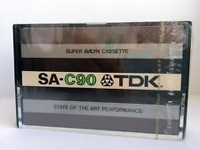 TDK SA-C 90 BLANK AUDIO CASSETTE TAPE NEW RARE 1975 YEAR JAPAN MADE KIND #4