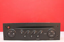RENAULT MEGANE CLIO UPDATELIST CD RADIO PLAYER CODE PHILIPS 2005 2006 2007 2008