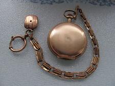 Illineous Elgin Helvita  DOPPELDECKEL GOLD FILLED TASCHENUHR  EXTREM RARE
