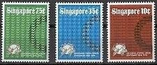Singapore stamps -1974 UPU Universal Postal Union 3v set Mounted Mint