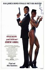 """A VIEW TO A KILL"" Movie Poster [Licensed-NEW-USA] 27x40"" Theater Size (Bond)"