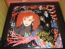 "Culture Club Walking Up With The House On Fire 12"" Vinyl Record Album VG+ 1984"