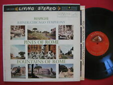 RESPIGHI - PINES OF ROME ~ REINER / CHICAGO ~ RCA LIVING STEREO LSC 2436 LP TAS