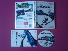 Disney Epic Mickey - Nintendo WII compatible WII U - PAL complet