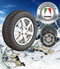 SNOW CHAIN KIT 4X4 4WD TOYOTA HILUX SR5 265/65R17 WHEELS / RIMS CA460
