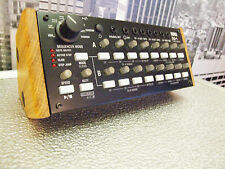 KORG SQ1 SEQUENCER SOLID EUROPEAN OAK WOOD STAND END CHEEKS