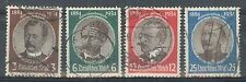 GERMANIA REICH 1934 - US (catalogo n.° 499/502) (6331)