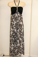 New Dotti Swimwear Cover Up Dress Size XS Black WHT