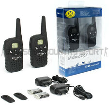 Midland G5 Xt 2 Way Radio Handset Black Army Airsoft Security