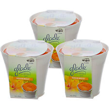 Glade Scented Gel in a Cup Car Under the Seat Air Freshener, Hawaiian Breeze-3PK