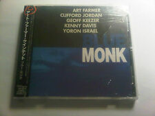 ART FARMER BLUE MONK CLIFFORD JORDAN GEOFF KEEZER NEW JAPAN OOP CD - RARE LIVE