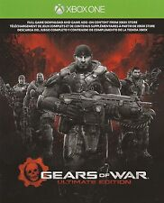 NEW XBox-1 ONE Gears of War Ultimate Edition FULL GAME Digital Download Code DLC