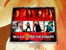 W.A.S.P. WASP-Over The Europe Summer Tour Live 3 CD 2009 Kiss Motley Crue Doro