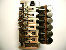 Schaller Double Locking Tremolo Vintage Copper, R2, 37mm Block