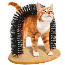 Fun Cat Scratcher Arch Post Scratching Toy Scratch Grooming Play Furniture New X