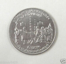 Thailand Commemorative Coin 1 Baht 1972 Almost Uncirculated  , F.A.O.