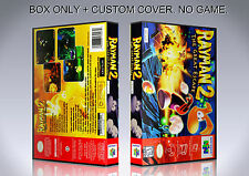RAYMAN 2. ENGLISH. Box/Case. Nintendo 64. BOX + COVER. (NO GAME).