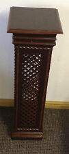 STATUE TELEPHONE LAMP PLANT STAND COLUMN PILLAR DISPLAY WOODEN PLINTH PEDESTALS