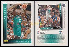 NBA UPPER DECK 1993/94 - Larry Johnson # 80 - Hornets - Ita/Eng - MINT