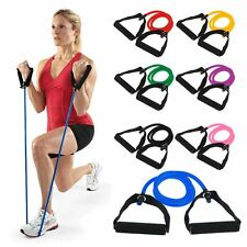 Fitness Resistance Band Gym Exercise Stretch Tube Rope for Yoga Pilates Workout