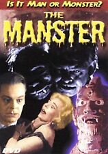 The Manster DVD - Is It Man or Monster? - Mad Scientist Vintage Monster Movie