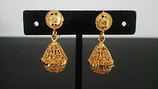 Jhumka Ethnic Traditional Indian Jewelry Jhumki Drop Dangle Bridal Earrings Gold