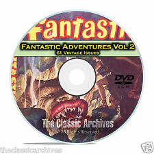 Fantastic Adventures, Vol 2, 61 Vintage Pulp Magazine Golden Age Fiction DVD C29