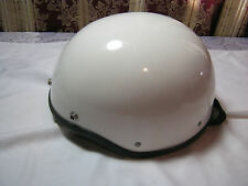 Vintage Motorcycle Half Helmet Size M 6 7/8-7 1/8  USA