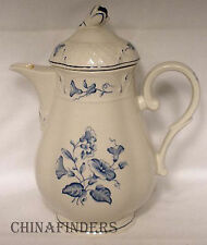 VILLEROY & BOCH china VAL BLEU pattern Coffee Pot and Lid @ 5 cup