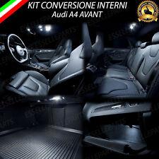 LED INTERNI AUDI A4 B8 8K AVANT CONVERSIONE COMPLETA 6000K ABITACOLO 10 LAMPADE