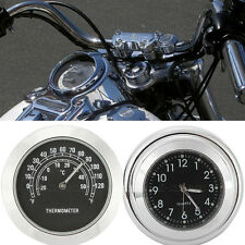 Motorcycle Thermometer Clock  for Yamaha XJ FJ FJR 600 650 900 1100 1200 1300