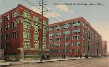 Goodrich Rubber Company Buildings in Akron OH Postcard