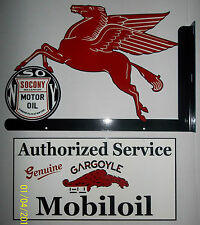 Great Mobil/Pegasus 2 sided-2piece Flange Sign, Great Color, Shine and Graphics
