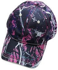 Buck Logo Cap Adult Hat Muddy Girl Camo One Size Fits Most 89095