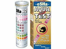 Esha Aqua KIT TEST RAPIDO STRISCE PH KH GH no2 no3 test dell'acqua 50 x 6 test