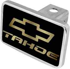 New Chevrolet Tahoe Gold Word/Gold Logo Hitch Cover Plug