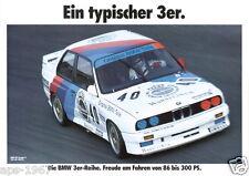 BMW E30 M3 DTM  Motorsport poster print # 12