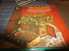 "MARIO LANZA LP  ""Christmas Hymns and Carols"""