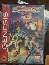 Streets Of Rage 3 Sega Genesis Used