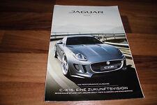JAGUAR MAGAZIN 2011 -- C-X16 / eine Zukunftsvision - Tiefe in Design+Engineering