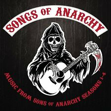Songs of Anarchy CD [Cover hat Riss] Soundtrack Music Seasons 1-4 *NEU*